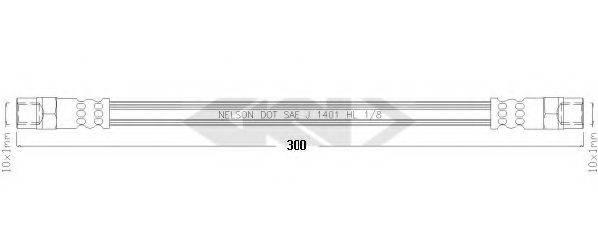 SPIDAN 340516 Шланг сцепления