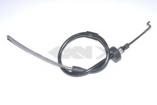 SPIDAN 41984 Трос, стояночная тормозная система