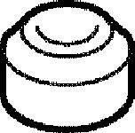 ELRING 915017 Уплотнительные кольца болтов клапанной крышки