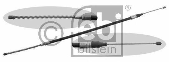 FEBI BILSTEIN 14208 Трос, стояночная тормозная система