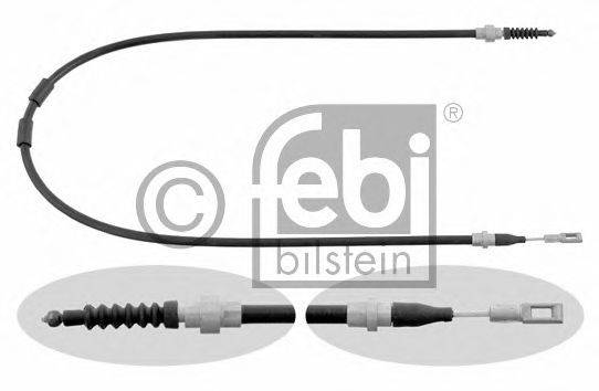 FEBI BILSTEIN 26455 Трос, стояночная тормозная система