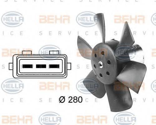 BEHR HELLA SERVICE 8EW009144391 Вентилятор системы охлаждения двигателя