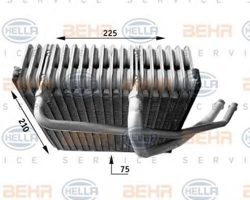 BEHR HELLA SERVICE 8FV351210771 Испаритель кондиционера
