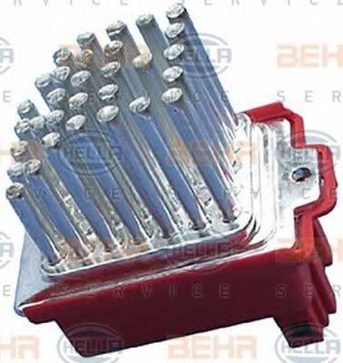 BEHR HELLA SERVICE 5HL351321591 Регулятор, вентилятор салона
