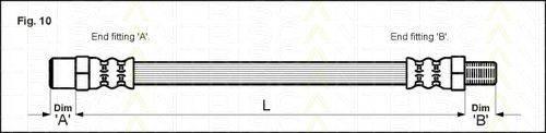 TRISCAN 815029101 Тормозной шланг