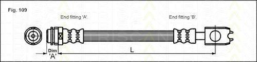 TRISCAN 815029118 Тормозной шланг