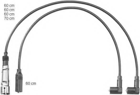 BERU PRO1149 Комплект проводов зажигания