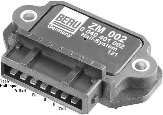 BERU ZM002 Коммутатор системы зажигания