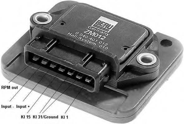BERU ZM012 Коммутатор системы зажигания