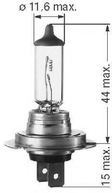 BERU 112554 Лампа накаливания