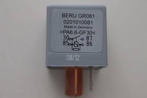 BERU GR081 Блок управления, время накаливания