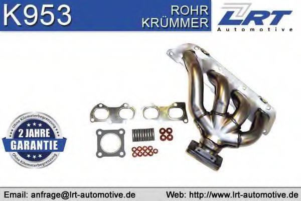 LRT K953 Коллектор, система выпуска