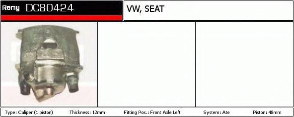 DELCO REMY DC80424 Тормозной суппорт