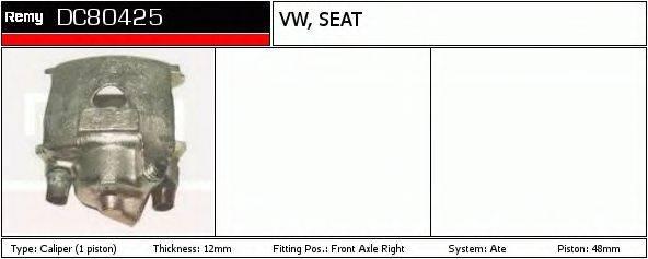 DELCO REMY DC80425 Тормозной суппорт