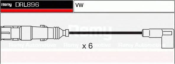 DELCO REMY DRL896 Комплект проводов зажигания