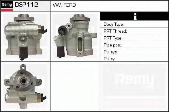 DELCO REMY DSP112 Гидравлический насос, рулевое управление