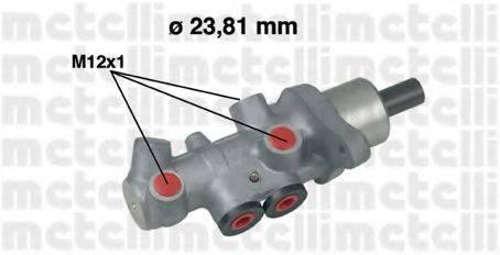 METELLI 050536 Главный тормозной цилиндр