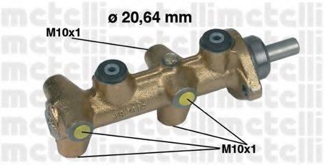 METELLI 050040 Главный тормозной цилиндр