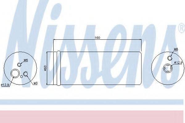 NISSENS 95171 Осушитель кондиционера