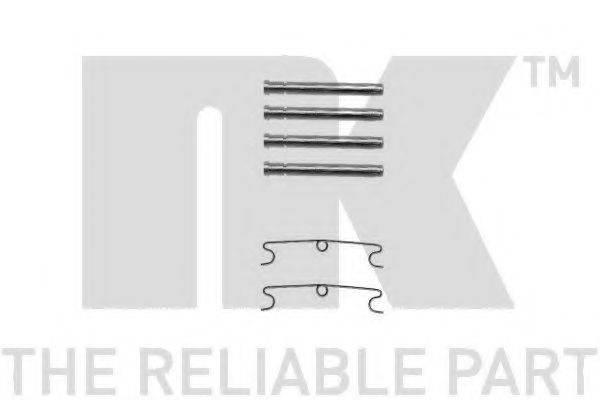 NK 7947190 Комплектующие, колодки дискового тормоза