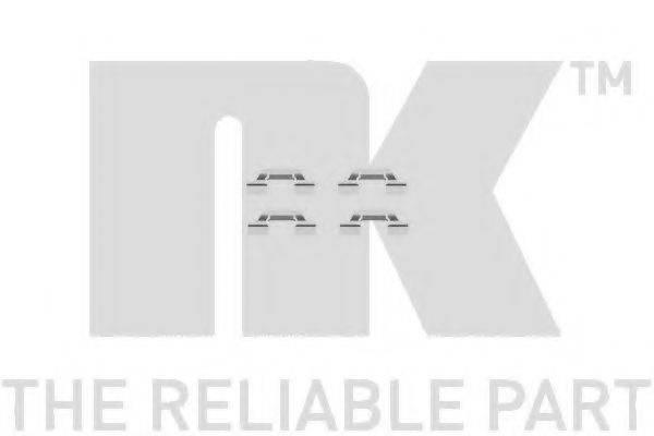 NK 7947685 Комплектующие, колодки дискового тормоза