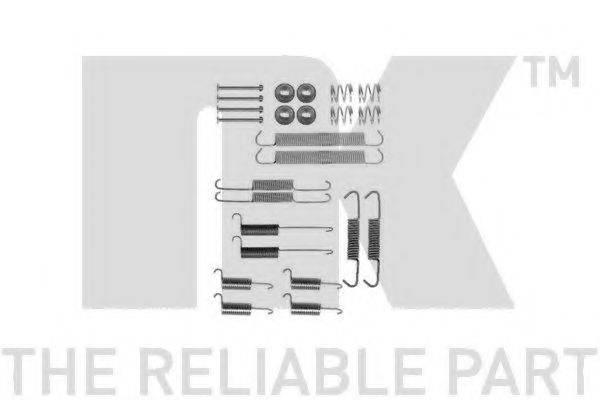 NK 7947712 Комплектующие, тормозная колодка