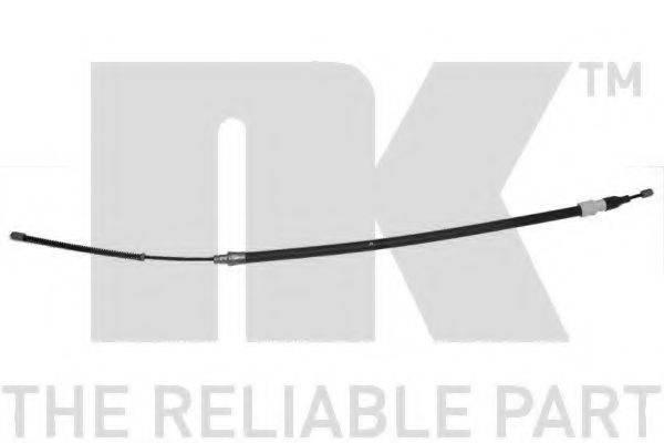 NK 904751 Трос, стояночная тормозная система