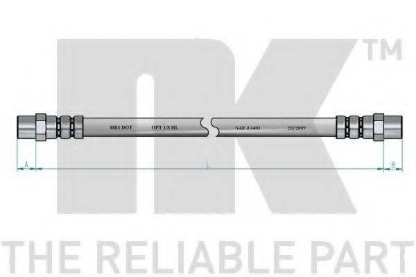 NK 854702 Тормозной шланг