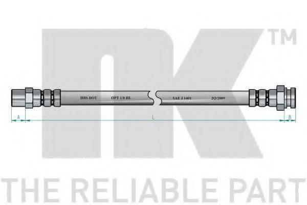 NK 854789 Тормозной шланг
