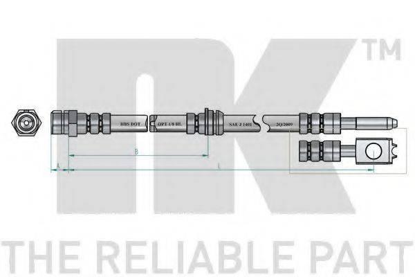 NK 8547130 Тормозной шланг