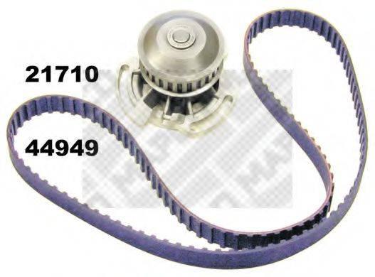 MAPCO 41850 Водяной насос + комплект зубчатого ремня