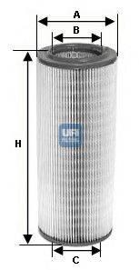 UFI 2719500 Воздушный фильтр