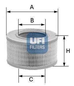 UFI 3080700 Воздушный фильтр