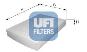 UFI 5301700 Фильтр салона