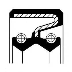 CORTECO 01030118B Уплотняющее кольцо, ступенчатая коробка передач; Уплотняющее кольцо вала, автоматическая коробка передач