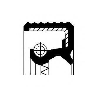 CORTECO 12010684B Уплотняющее кольцо, ступенчатая коробка передач; Уплотняющее кольцо, дифференциал; Уплотняющее кольцо, раздаточная коробка