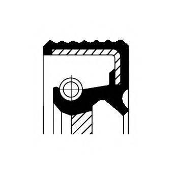 CORTECO 20026412B Сальник коленвала / распредвала
