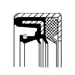 CORTECO 01036165B Направляющая гильза, система сцепления