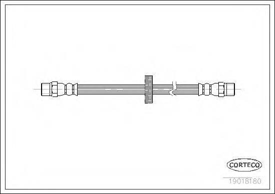 CORTECO 19018180 Тормозной шланг