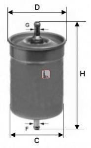 SOFIMA S1500B Топливный фильтр