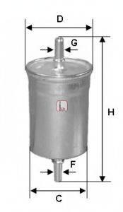 SOFIMA S1718B Топливный фильтр