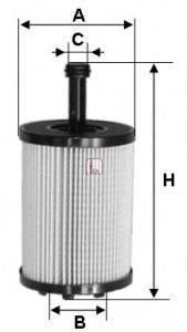 SOFIMA S5023PE Фильтр масляный ДВС