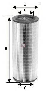 SOFIMA S7195A Воздушный фильтр
