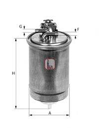 SOFIMA S7600NR Топливный фильтр