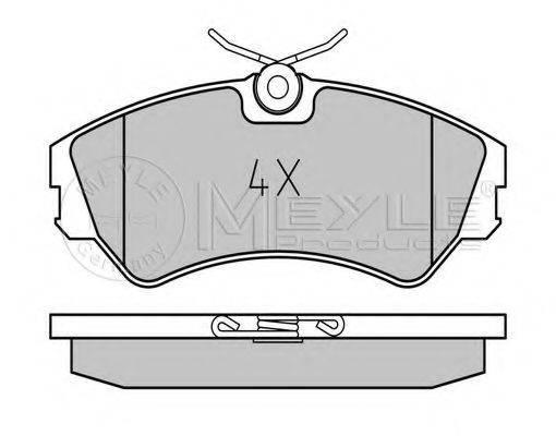 MEYLE 0252012419 Тормозные колодки