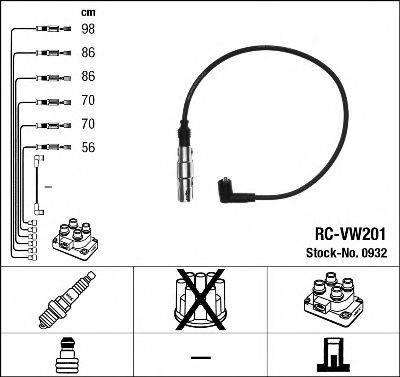 NGK 0932 Комплект проводов зажигания