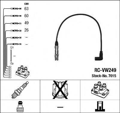 NGK 7015 Комплект проводов зажигания