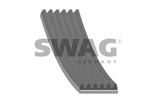 SWAG 20928951 Поликлиновой ремень