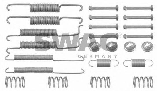 SWAG 30902060 Комплектующие, тормозная колодка