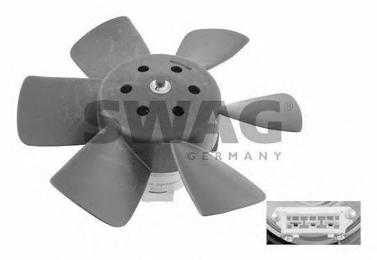 SWAG 30906989 Вентилятор системы охлаждения двигателя